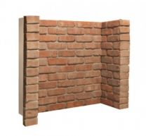 Rustic Brick Chamber 3 Piece with Returns