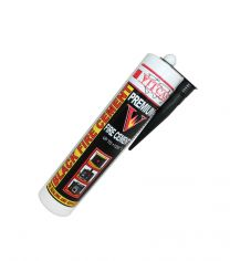 Vitcas Fire Cement 310ml Cartridge Black