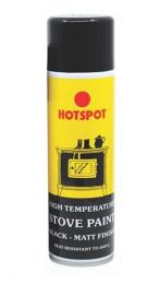 Hotspot Stove & Fireplace Paint Matt Black 450ml