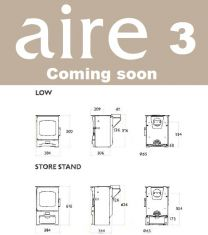 Charnwood Aire 3 on store stand