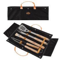 Denim BBQ Tool Set