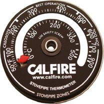 Calfire Magnetic Stovepipe Thermometer