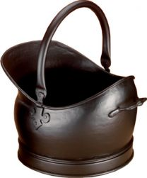 All Black Kenley Medium Coal Bucket