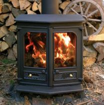 Charnwood Country 8 Stove Black