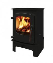 Charnwood Cove 1 Stove on Midi Stand