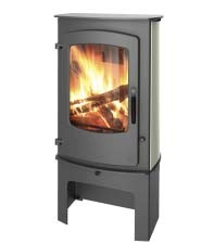 Charnwood Cove 3 Stove with store stand