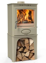 Arada Ecoburn Plus 5 on logstore Devon Cream - ex display