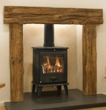 Newman Fireplace Exmoor Oak Effect Stone Surround