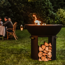 Firepit with High base by Hergom