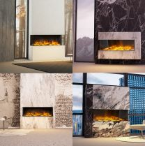 iLektro 1250 Landscape electric fire  - 4 config