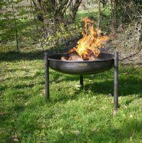 Legs Eleven Steel Firepit - 70cm diameter