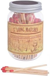 Long Matches in a Jar