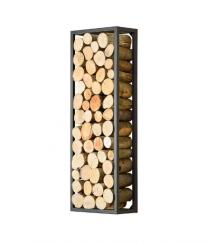 Rectangle Steel Log Holder