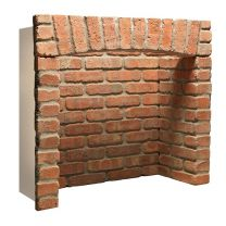 4 Piece Rustic Brick Chamber with Arch