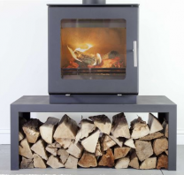 Westfire Uniq 23 SE Stove Block Base - Flat Door
