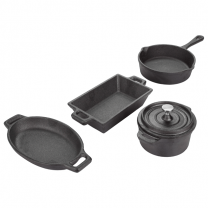 Valiant Miniature Cast Iron Cookware Set