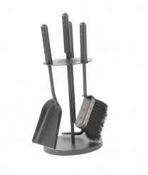 Westhay 1 companion set with poker, shovel and brush