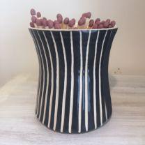 Yoka Strike N' Match Pot - Black Stripe