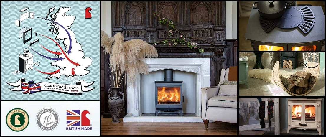 Charnwood Stoves - Made in Britain