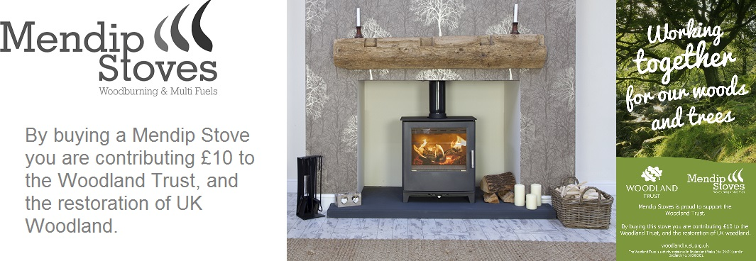 Mendip Stove Sponsors of the Woodland Trust
