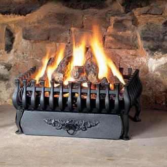 Open Fire Basket