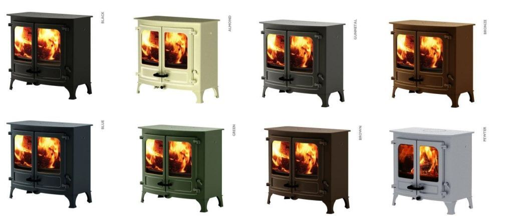 Charnwood Island Colour Stoves