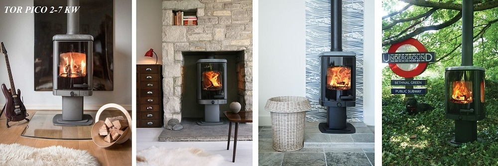 Contemporary Charnwood Stoves
