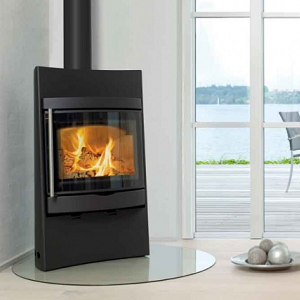 Corner Glass Hearths