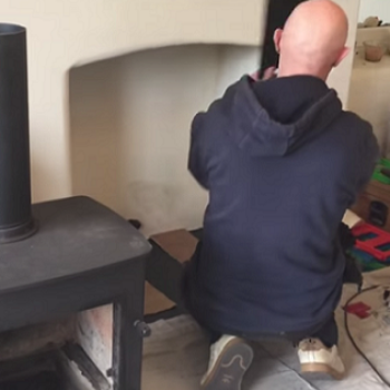 Fitting a Stove