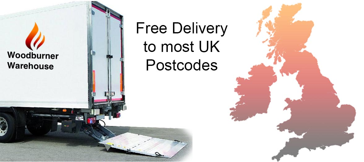 Free delivery to most uk postcodes